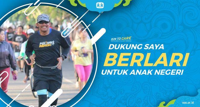 Ariyana Berlari 150KM untuk Mimpi Anak Indonesia