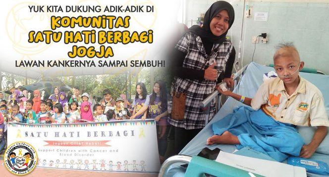 Bantu Anak Pejuang Kanker di Komunitas SHB Jogja