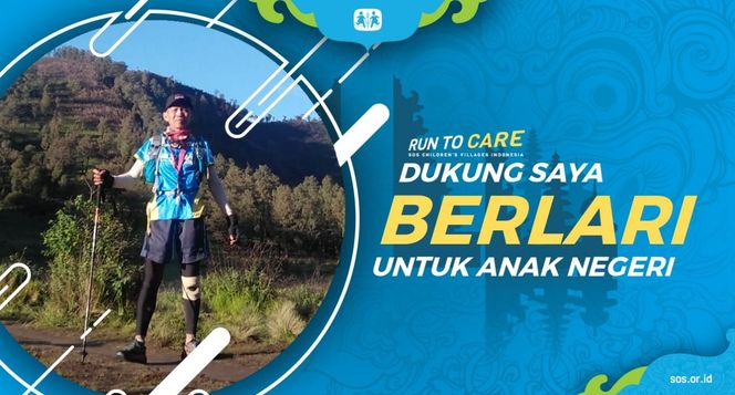 Yohanes berlari 150KM untuk Mimpi Anak Indonesia
