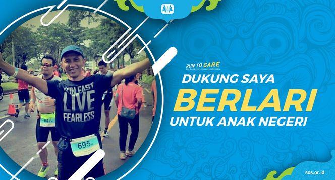 Puguh berlari 150KM untuk Mimpi Anak Indonesia