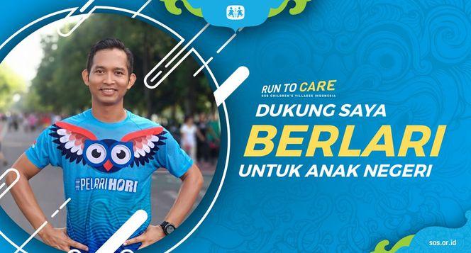 Ngakan berlari 150KM untuk Mimpi Anak Indonesia