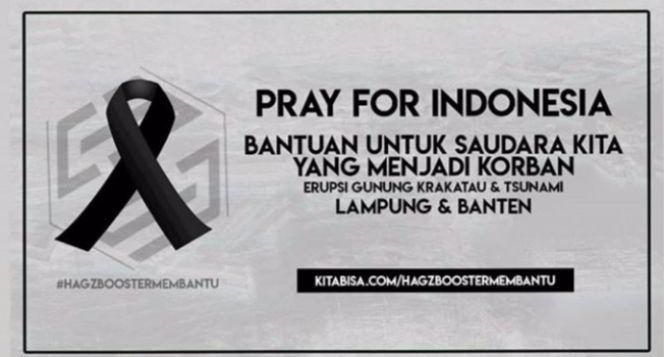 Hagzbooster Peduli Banten dan Lampung