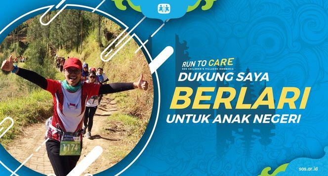 Della berlari 150KM untuk Mimpi Anak Indonesia
