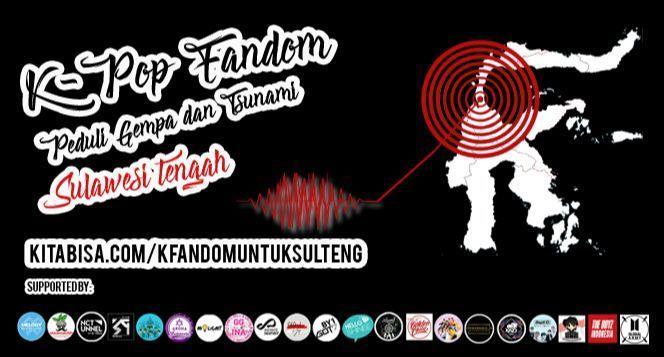K-Pop Fandom Peduli Gempa Donggala & Palu Sulteng