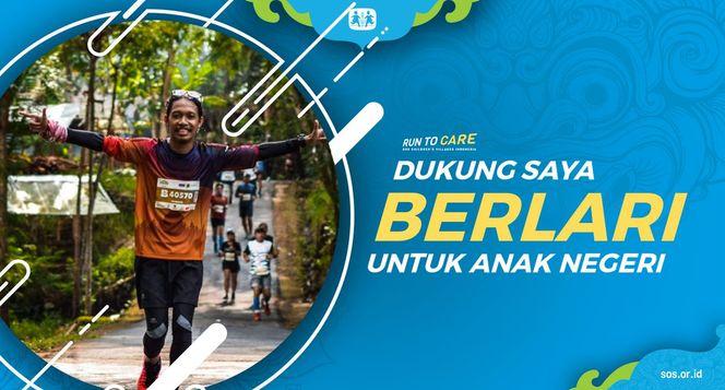 Sugeng berlari 150KM untuk Mimpi Anak Indonesia