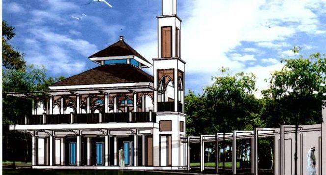 Pembangunan Masjid Baitul Ihsan Serpong