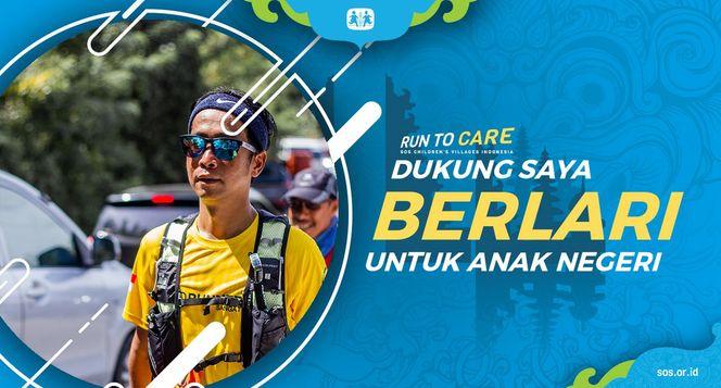 Achsan berlari 150KM untuk Mimpi Anak Indonesia