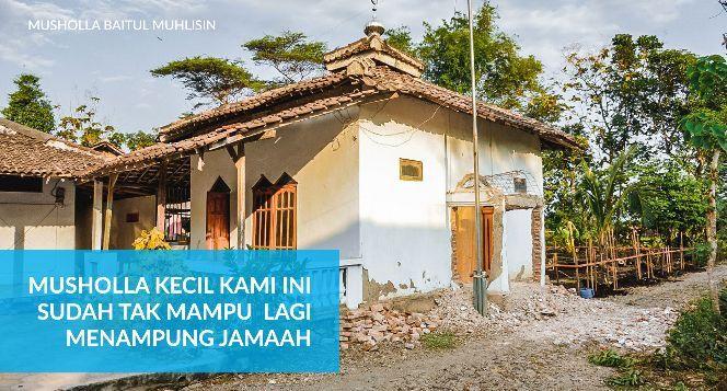 Bantu Kami Membangun Musholla