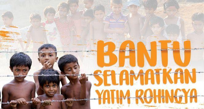 Segenggam Beras Untuk Yatim Piatu Rohingya