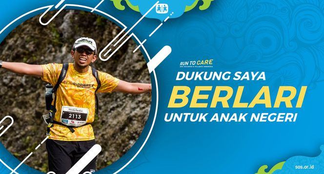 Hendy berlari 150KM untuk Mimpi Anak Indonesia