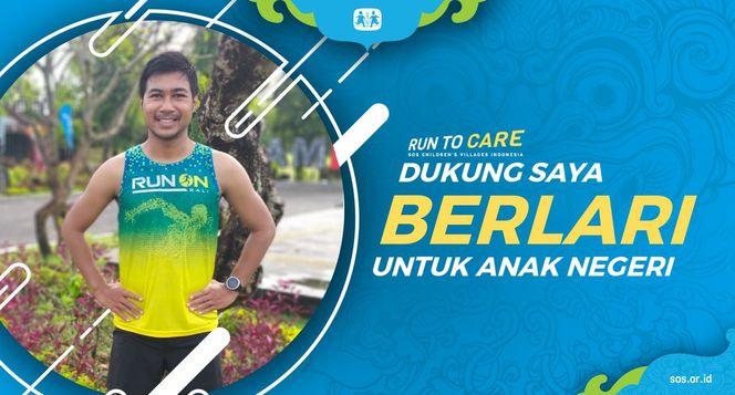 Helmy berlari 150KM untuk Mimpi Anak Indonesia
