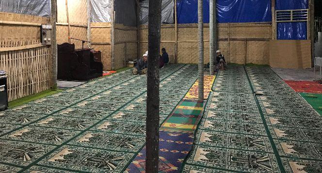 Pembangunan Masjid Aiklisung Lombok Timur NTB