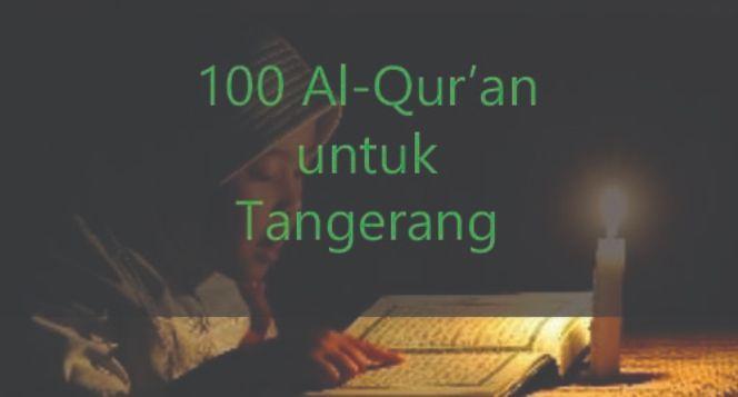 100 Alquran untuk Tangerang