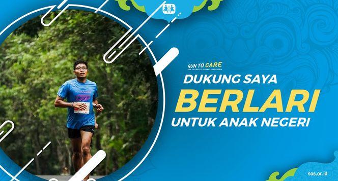 Jefry Berlari 150KM untuk Mimpi Anak Indonesia