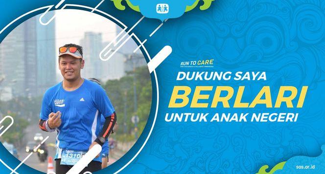 Bayu berlari 150KM untuk Mimpi Anak Indonesia