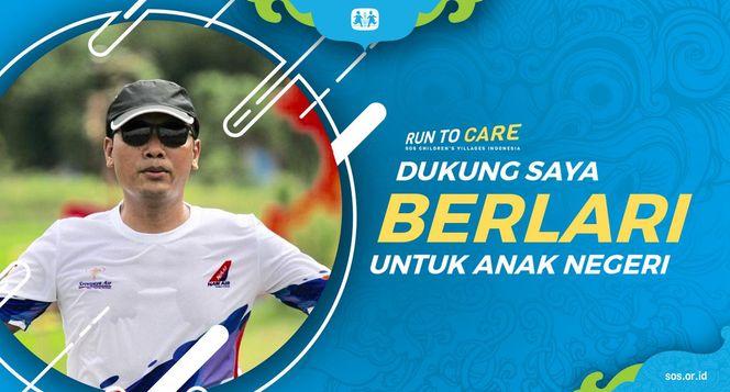 Suhanto Berlari 150KM untuk Mimpi Anak Indonesia