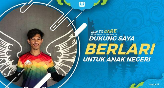 Ian berlari 150KM untuk Mimpi Anak Indonesia