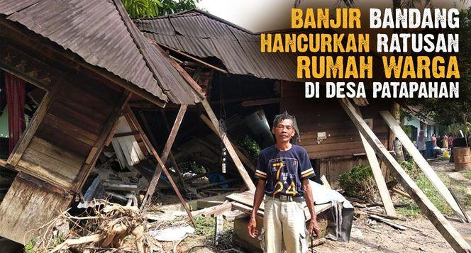 Bangun Kembali Rumah Korban Banjir Patapahan