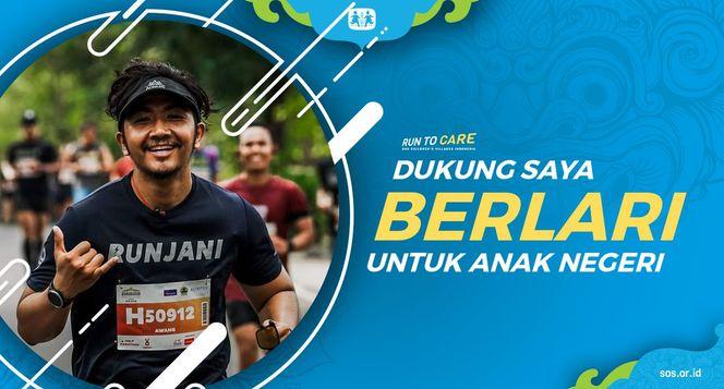 Awang berlari 150KM untuk Mimpi Anak Indonesia