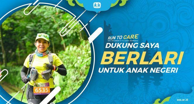 Puri berlari 150KM untuk Mimpi Anak Indonesia