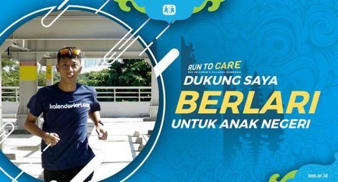 Oscar berlari 150KM untuk Mimpi Anak Indonesia