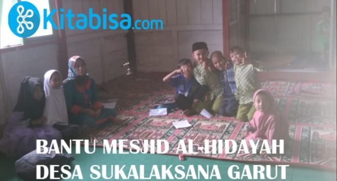 Bantu Bangun Mesjid untuk anak anak mengaji