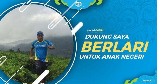 Epat berlari 150KM untuk Mimpi Anak Indonesia