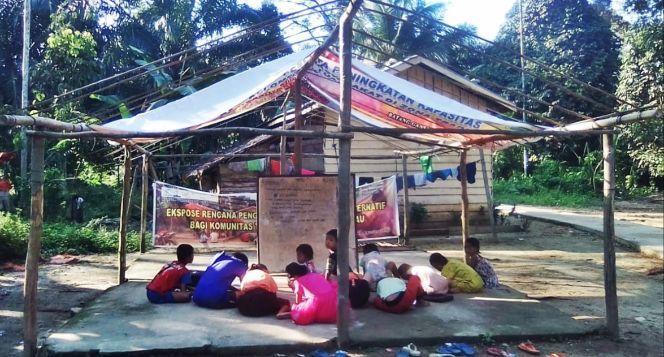 Donasi Pendidikan Dasar Anak-anak Suku TalangMamak