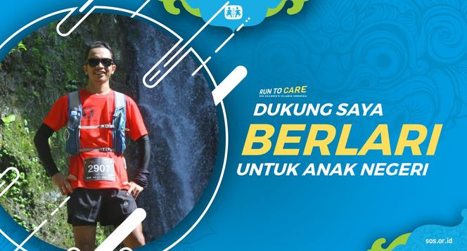 Ricky berlari 150KM untuk Mimpi Anak Indonesia