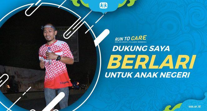 Triyono berlari 150KM untuk Mimpi Anak Indonesia