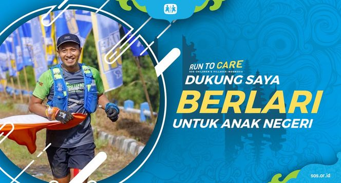 Dicky berlari 150KM untuk Mimpi Anak Indonesia