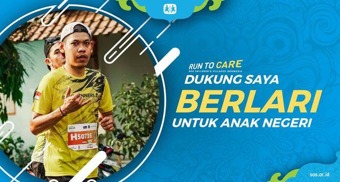 Yudha berlari 150KM untuk Mimpi Anak Indonesia