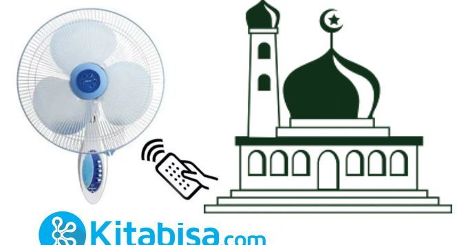 Bantuan kipas angin untuk masjid dan musholla