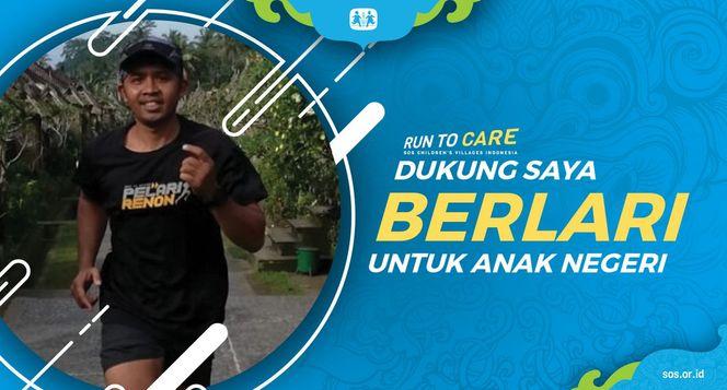Widiana berlari 150KM untuk Mimpi Anak Indonesia