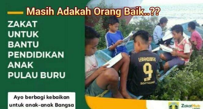 Bantu mereka untuk membangun rumah belajar
