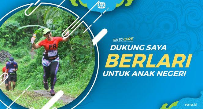 Trisna berlari 150KM untuk Mimpi Anak Indonesia