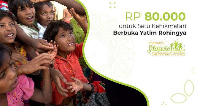 Ifthar Untuk Yatim & Pengungsi Rohingya