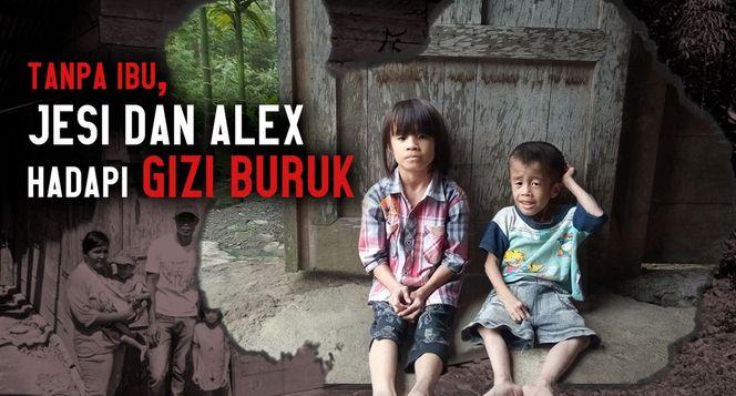 Bantu  Jesi dan Alex Melawan Gizi Buruk
