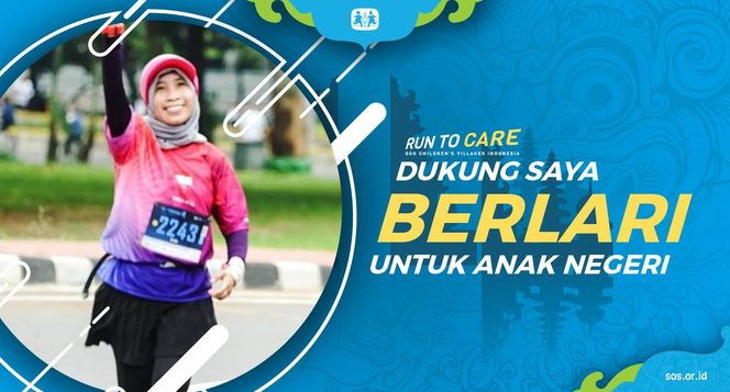 Atikah Berlari 150KM untuk Mimpi Anak Indonesia