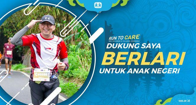 Go Hengky berlari 150KM untuk Mimpi Anak Indonesia