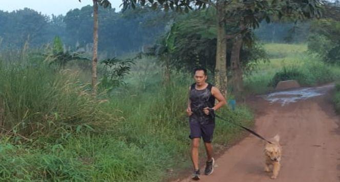 Edoardo berlari 150KM untuk Mimpi Anak Indonesia