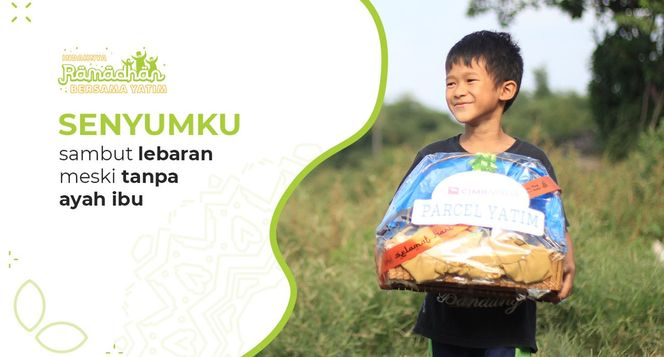 Parcel Lebaran untuk 10.000 Anak Yatim Dhuafa