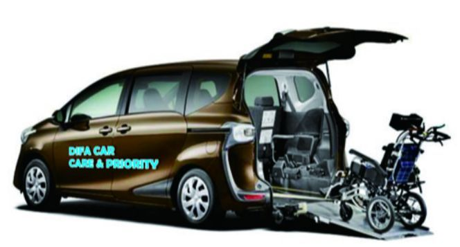 Difa Car untuk penyandang Disabilitas tanpa batas