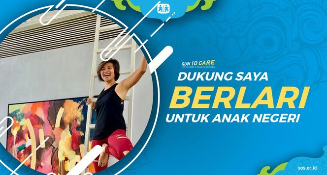 Diana berlari 150KM untuk Mimpi Anak Indonesia