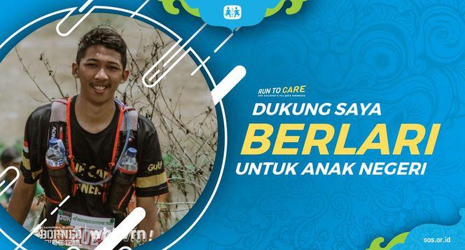Vizay berlari 150KM untuk Mimpi Anak Indonesia