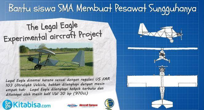 Pembuatan Pesawat Ultra ringan anak SMA
