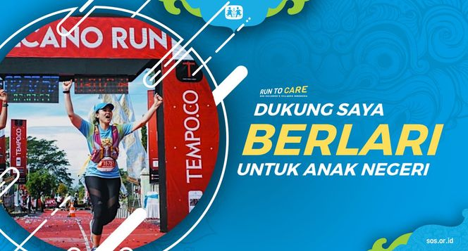 Carragh berlari 150KM untuk Mimpi Anak Indonesia