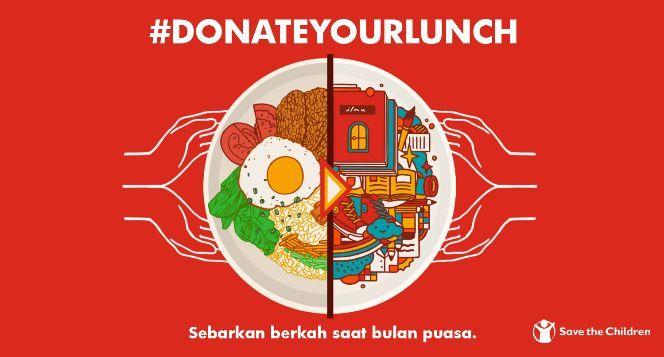 Donasikan Makan Siangmu Untuk Pemulung Cilik