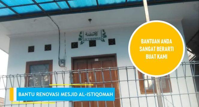 Pembangunan Perluasan Mesjid JAMI AL-ISTIQOMAH