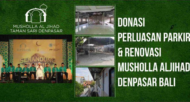 Perluasan Lahan Parkir dan Renovasi Musholla